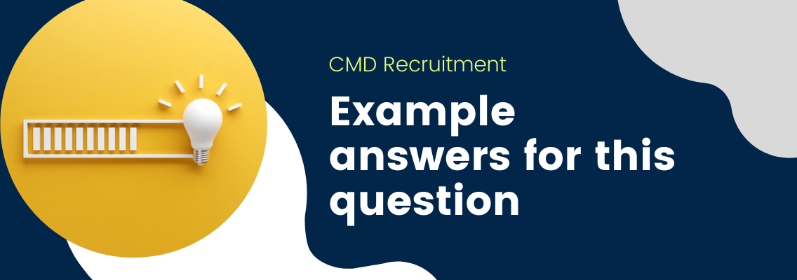 """How to Answer """"Where Do You See Yourself in 5 Years?"""" CMD Recruitment"""