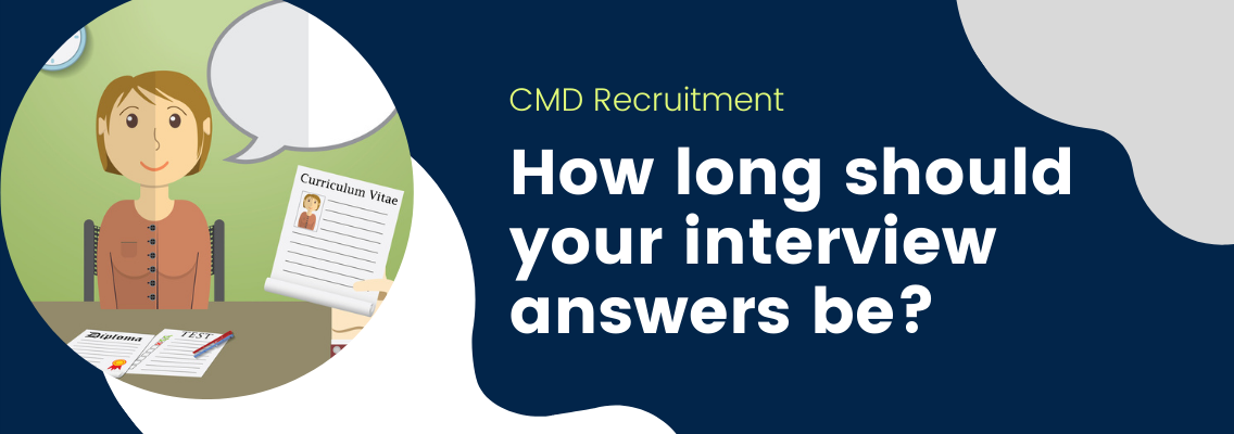 How long should your interview answers be?