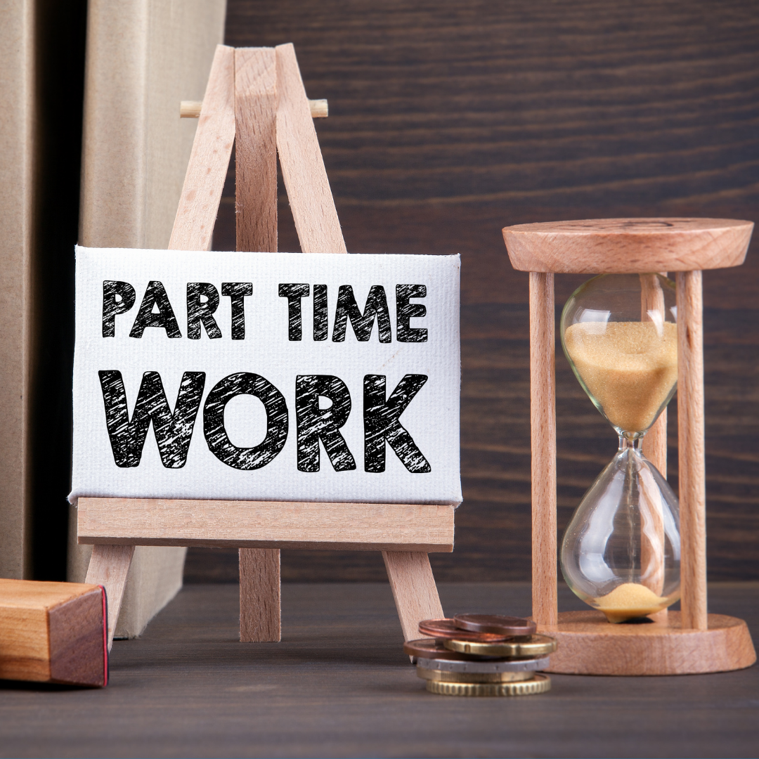 Is there any such thing as a part-time job?