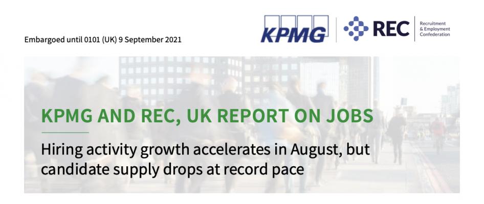 KPMG – UK Jobs Report September